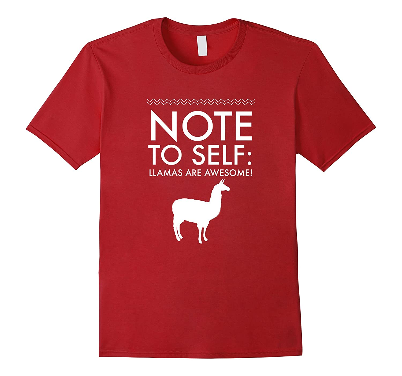 b612a3a13 Llama Lovers T-Shirt Llamas are Awesome Funny Tee-TD – theteejob