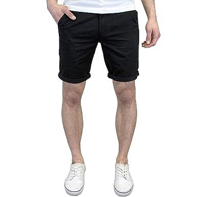 1060693cb8 West Ace Men's Lightweight Slim Fit Summer Chino Shorts, BNWT (38W, Black)