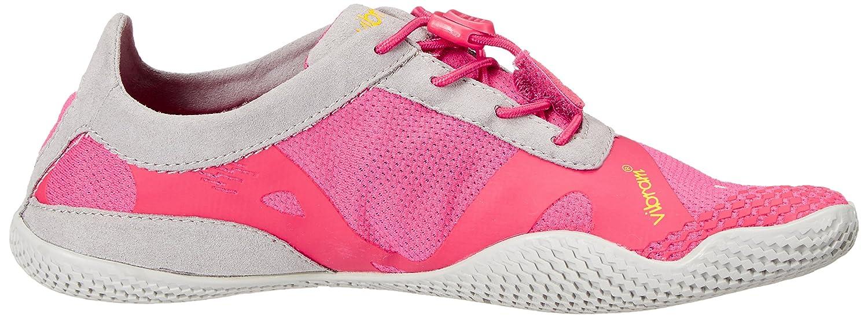 Vibram Outdoor FiveFingers Damen KSO Evo Outdoor Vibram Fitnessschuhe, Mehrfarbig (Pink/Grau) e44ff2