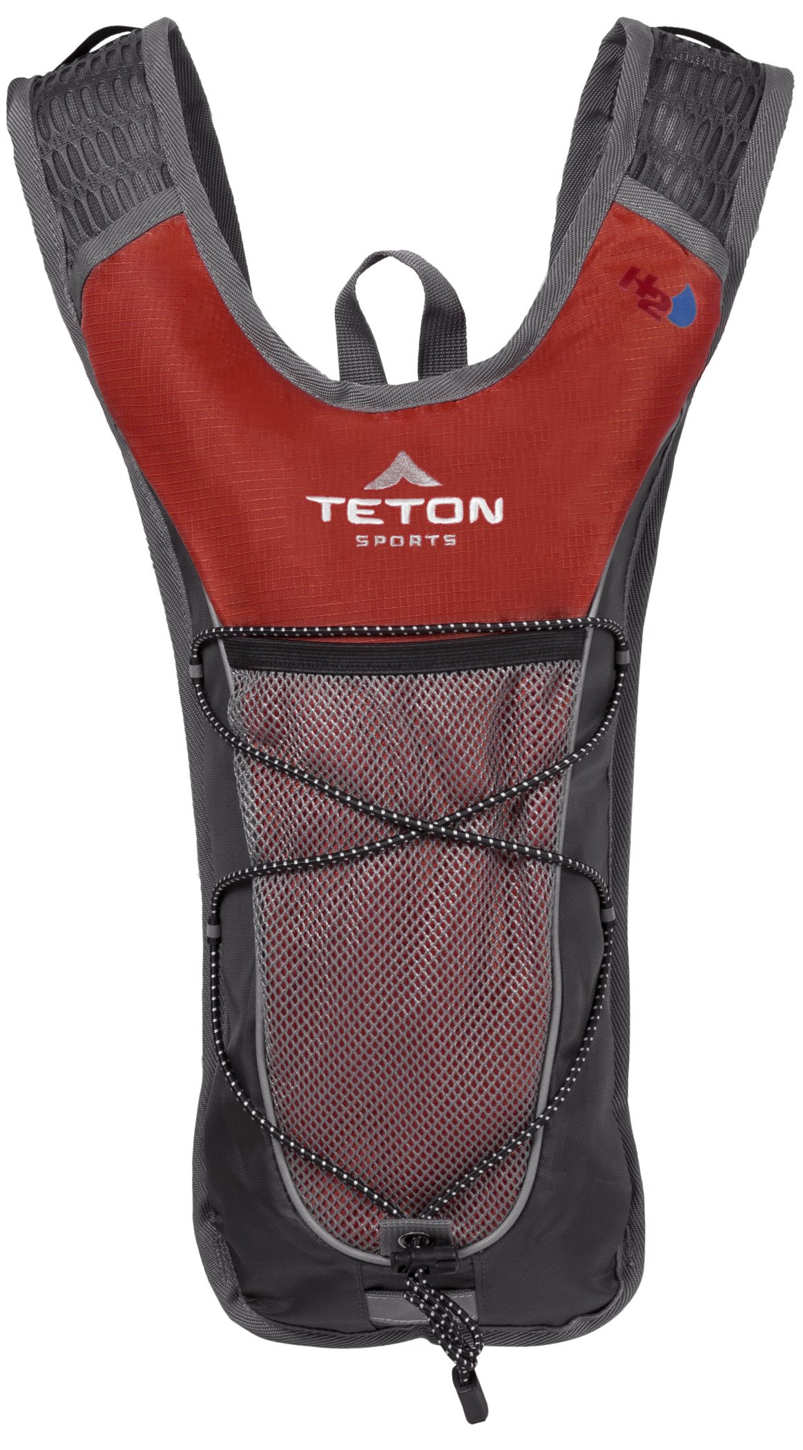 TETON Sports TrailRunner 2.0 Hydration Pack; Backpack for Hiking, Running and Cycling; Free 2-Liter Hydration Bladder; Red by TETON Sports