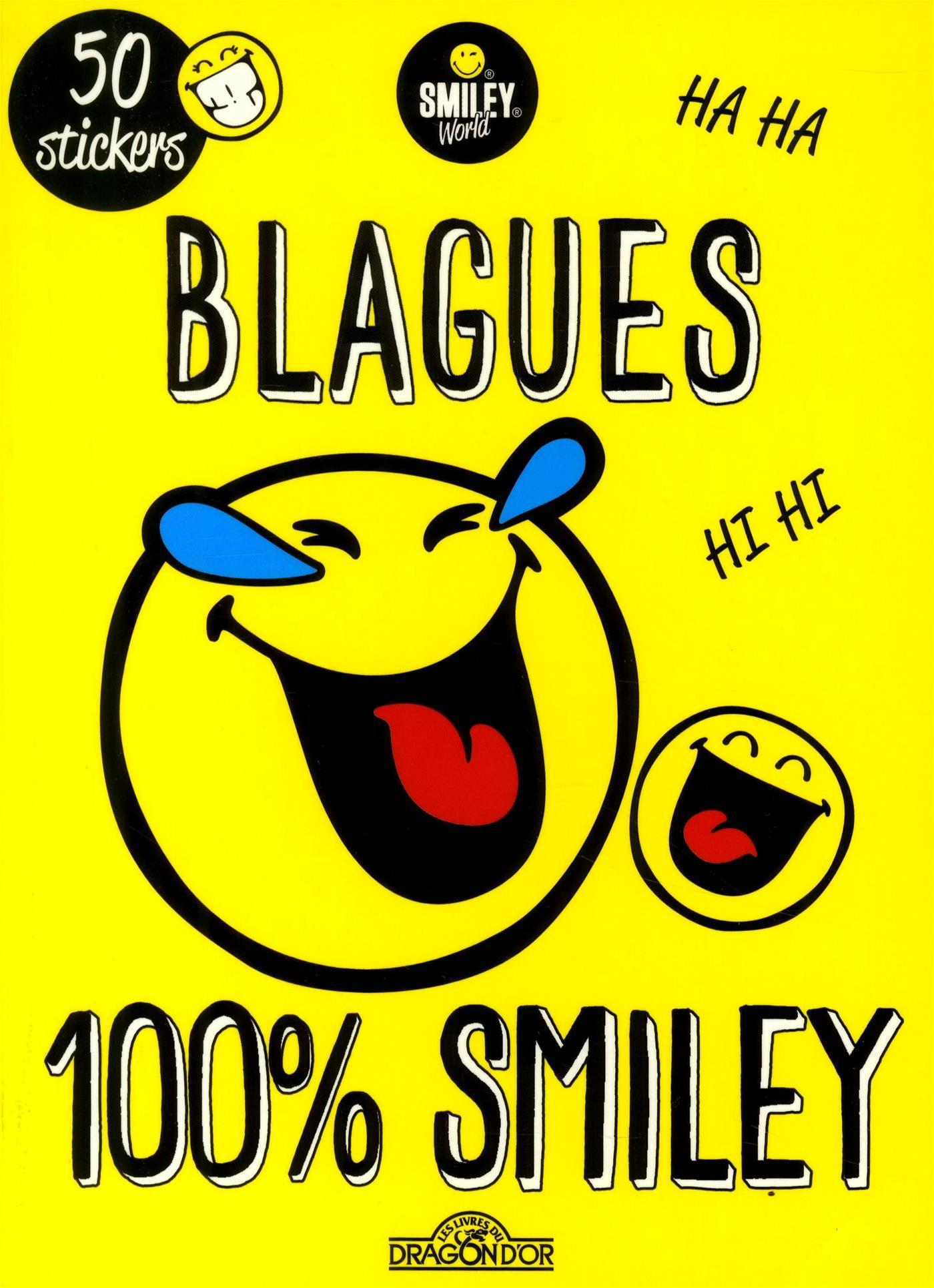 Blagues 100% Smiley Poche – 4 janvier 2018 SMILEYWORLD Dragon D'Or 2821208863 Livres d'activités