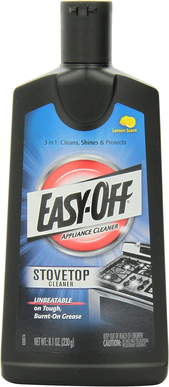 Easy-Off Cooktop Cleaner, 8.1 oz Bottle