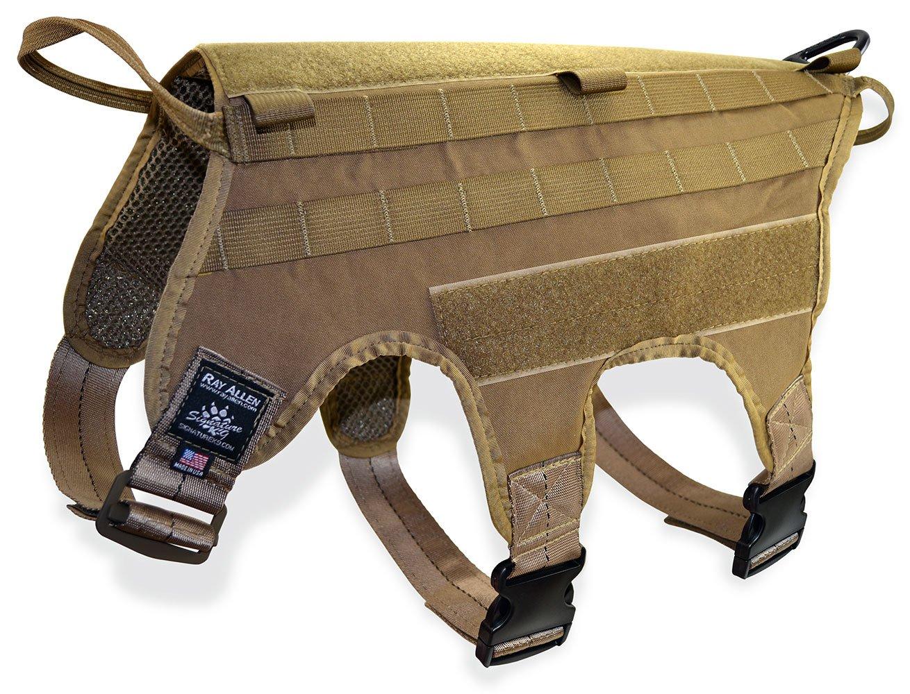 Signature K9 Modular Ultimate Load Bearing Harness, Coyote Brown