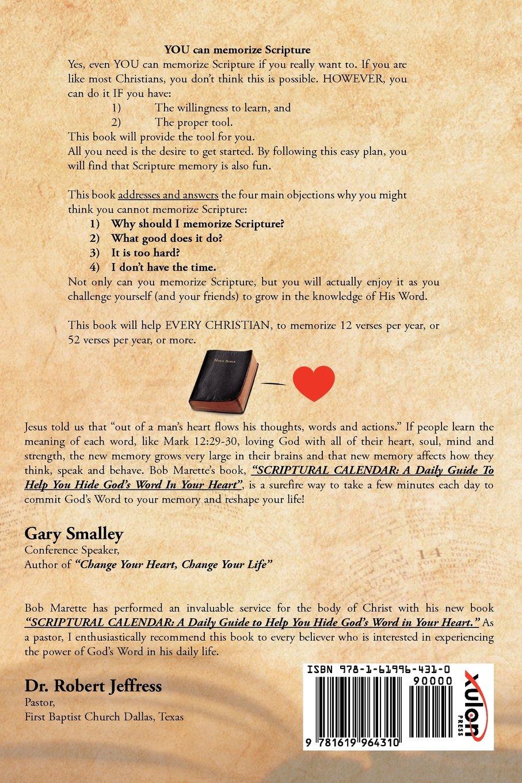 Scriptural calendar bob marette 9781619964310 amazon books solutioingenieria Choice Image