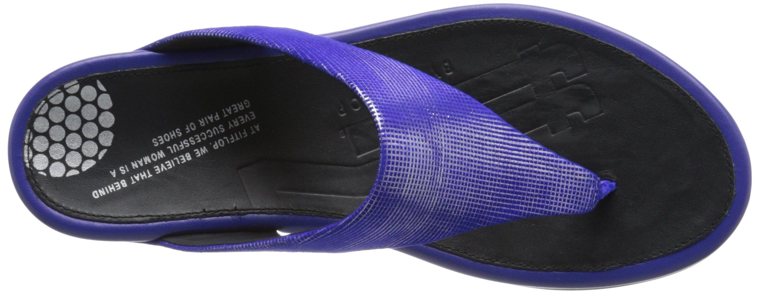 FitFlop Women's Banda Opul Flip Flop, Mazarin Blue, 7 M US by FitFlop (Image #8)