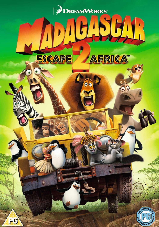 Madagascar Escape 2 Africa DVD Amazoncouk Ben Stiller