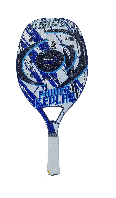 Amazon.com : Vision Pro Racket Racquet Beach Tennis Power ...