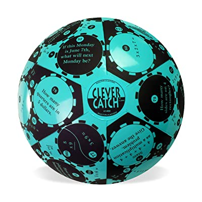 "American Educational Vinyl Clever Catch Multiplication Ball, 24"" Diameter: Industrial & Scientific"