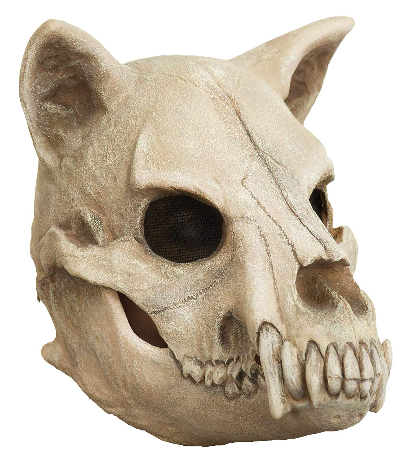Dog Skull Adult Latex Halloween Mask Costume Prop Accessory by Ghoulish Productions