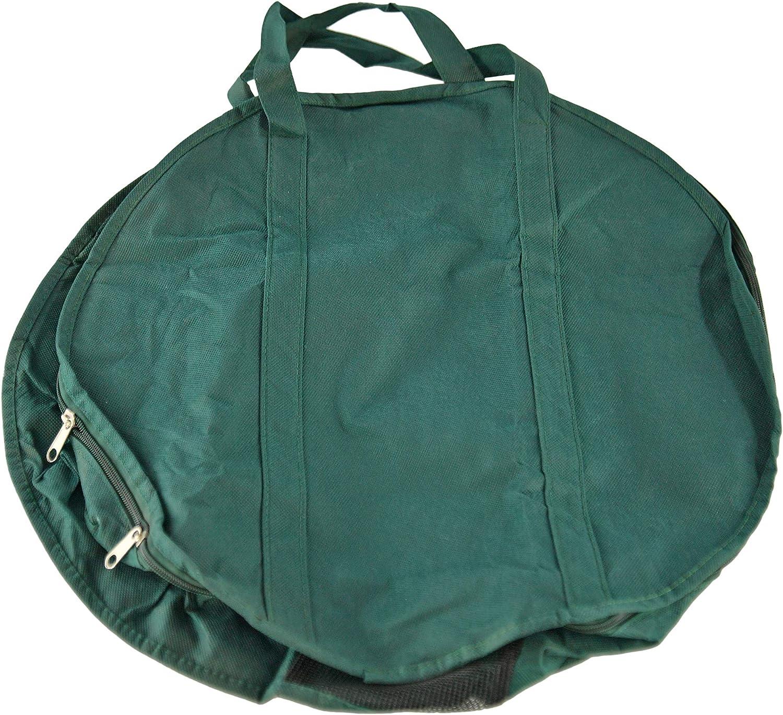 Home-X Garden Hose Holder, Storage Bag for Water-Hose Reel, Garden Bag and Extension Cord Organizer, 18 ½