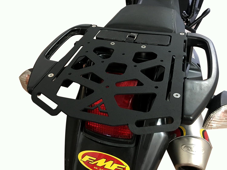 Krono Parts Cargo Rack Luggage Utility Rear Tail Holder Top Kawasaki KLR 650