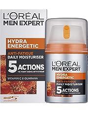 L'Oreal Men Expert Hydra Energetic, Anti-Fatigue Moisturiser with Vitamin C 50ml