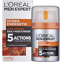 L'Oreal Paris Men Expert Hydra Energetic, Anti-Fatigue Moisturiser for Men, 50 ml