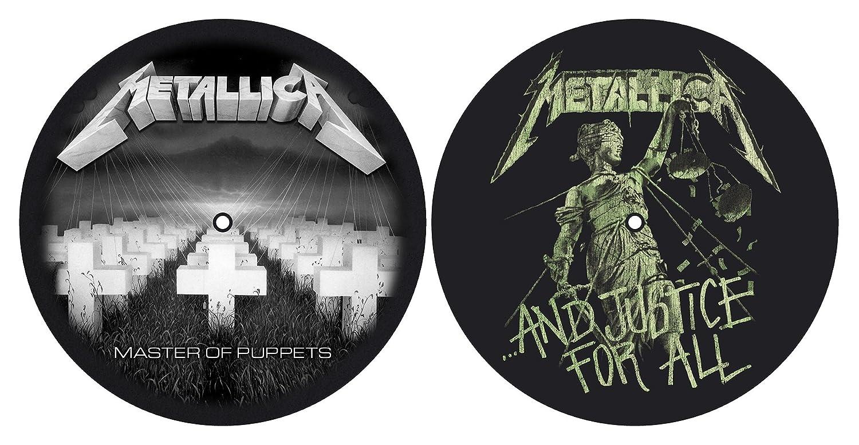 Metallica 'Master of Puppets/et la justice pour tous' platine Slipmate Lot