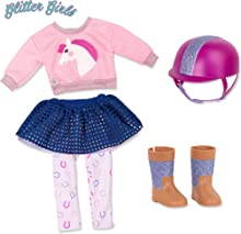 """Glitter Girls by Battat - Gallop & Glow! Outfit -14"""" Doll Clothes - Toys, Clothes & Accessories For Girls 3-Year-Old & Up"""