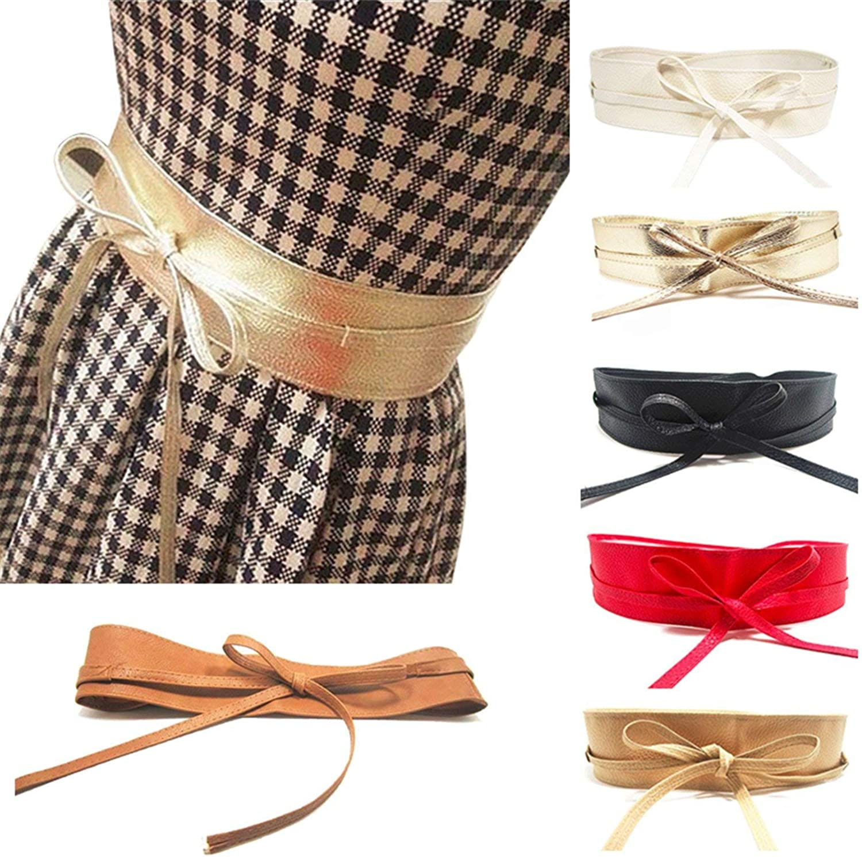 OnIn Women Belt Leather Wrap Around Waist Band Ladies Belt Girls Summer Dress Accessories