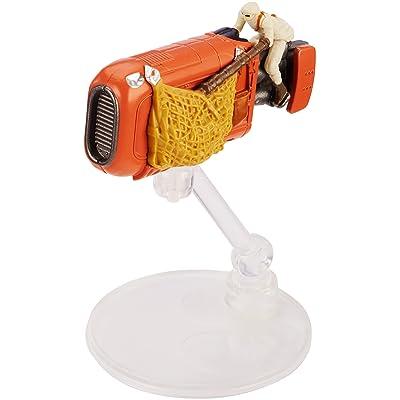 Hot Wheels Star Wars Rogue One Starship Rey's Speeder Vehicle: Toys & Games