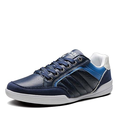 Shenbo - Chaussures Homme Bleu Et Noir Multicolore, Couleur Multicolore, Taille 45 Eu