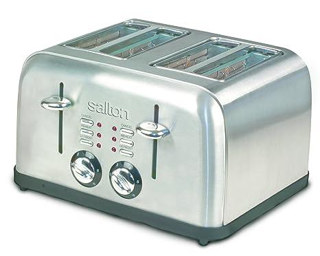 Amazon.com: Salton et1404 4-Slice tostador electrónica ...