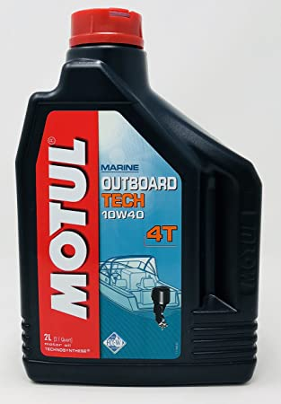 Aceite de motor para motos de agua fueraborda Outboard TECH 4T 10W40, 2 litros