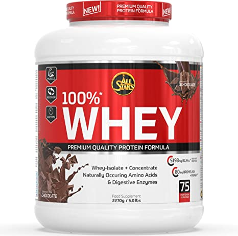 All Stars 100% Whey Protein Chocolate - 2270 gr