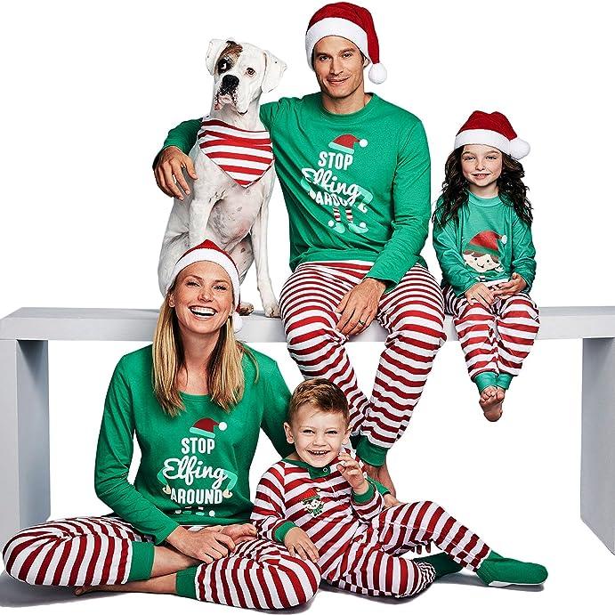 family christmas onesies