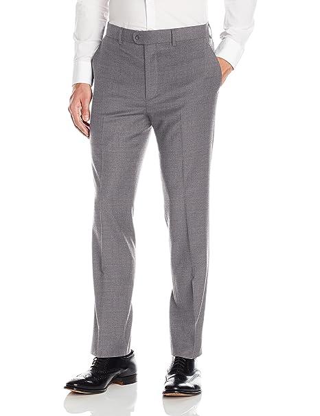 c306cb125 Bensol - Pantalón de Lana Gabardina para Hombre: Amazon.com.mx: Ropa ...
