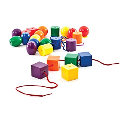 Carson-Dellosa Thinking Kids' Math Jumbo Lacing Beads: Toys & Games