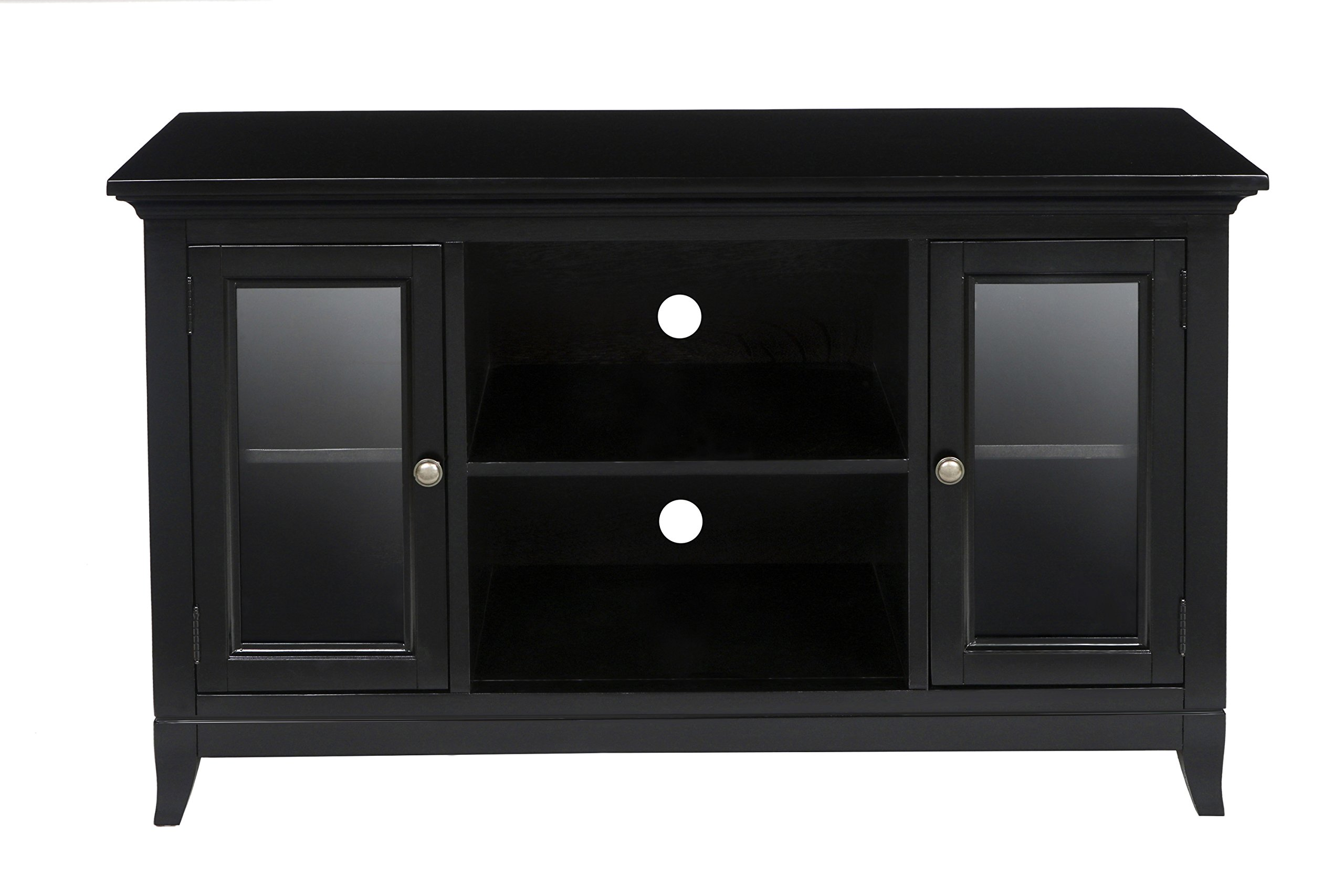 New Classic Franklin Park Simple Entertainment Espresso Console by New Classic Furniture