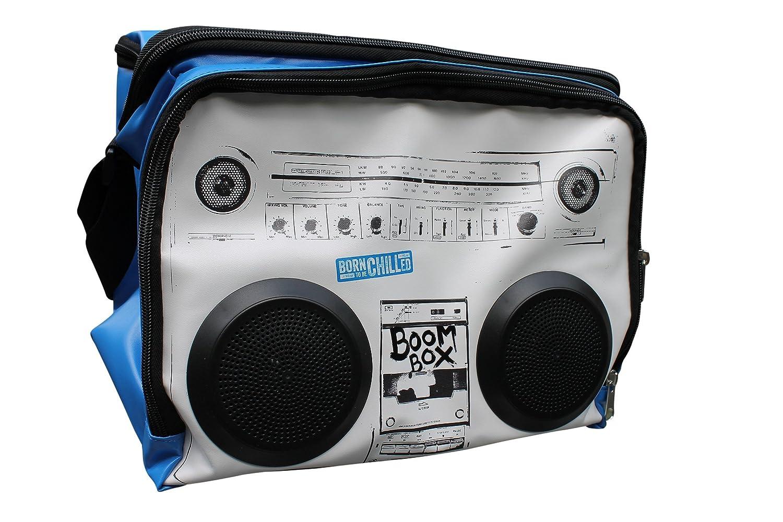 Kühltasche Sound System–Boom Box Kühltasche–Picknick Tasche mit Lautsprecher–MP3-Player, iPhone, iPod, Smartphone Verwenden,–16,5Liter Kapazität, für bis zu 12x 330ml Flaschen