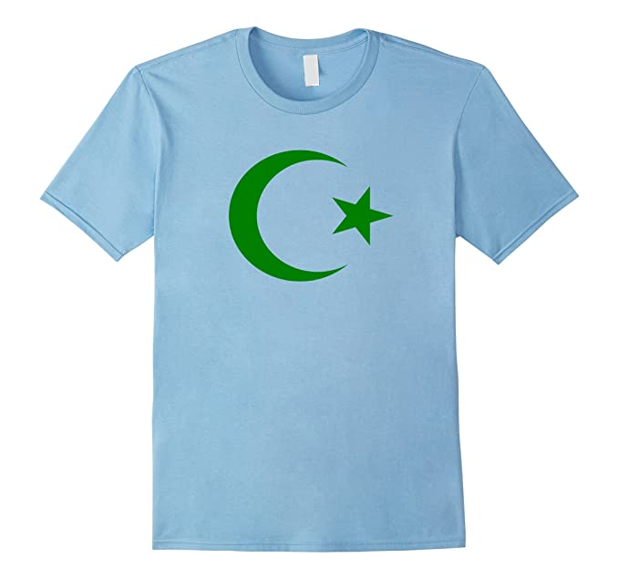 Amazon Islam Hilal Crescent Moon Star Religion Of Peace Tshirt
