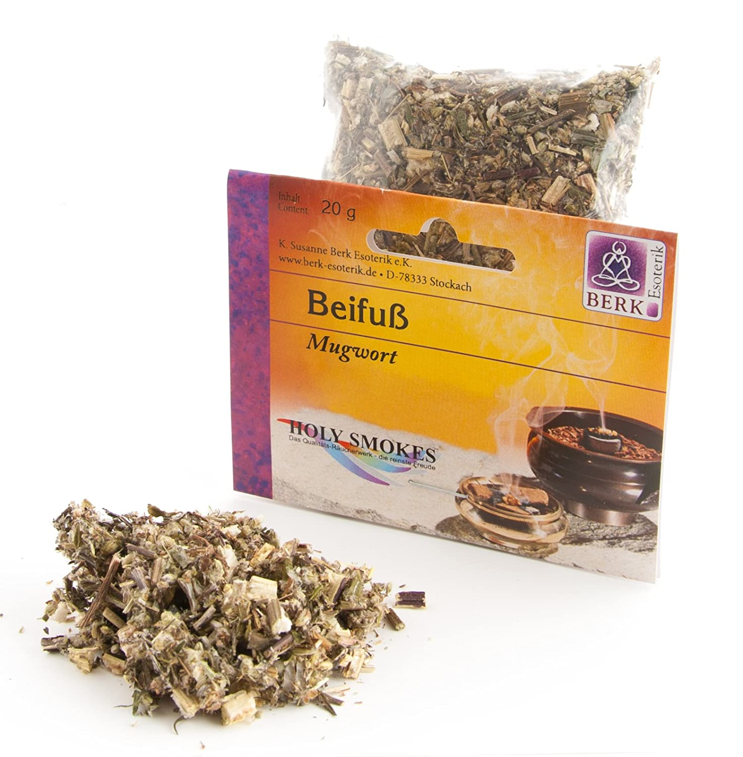 Berk - Inner Worlds 20 g Pure Resins Mugwort HS-623