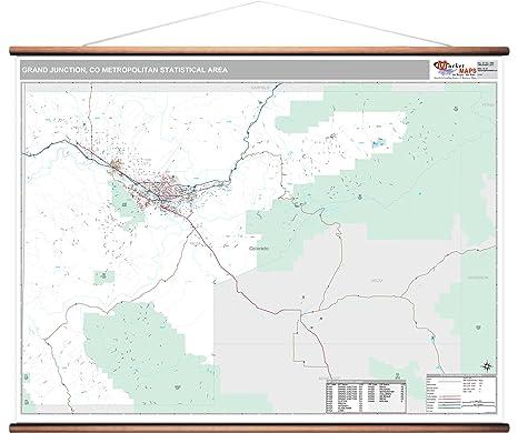 Amazon.com: MarketMAPS Grand Junction, CO Metro Area Wall ...