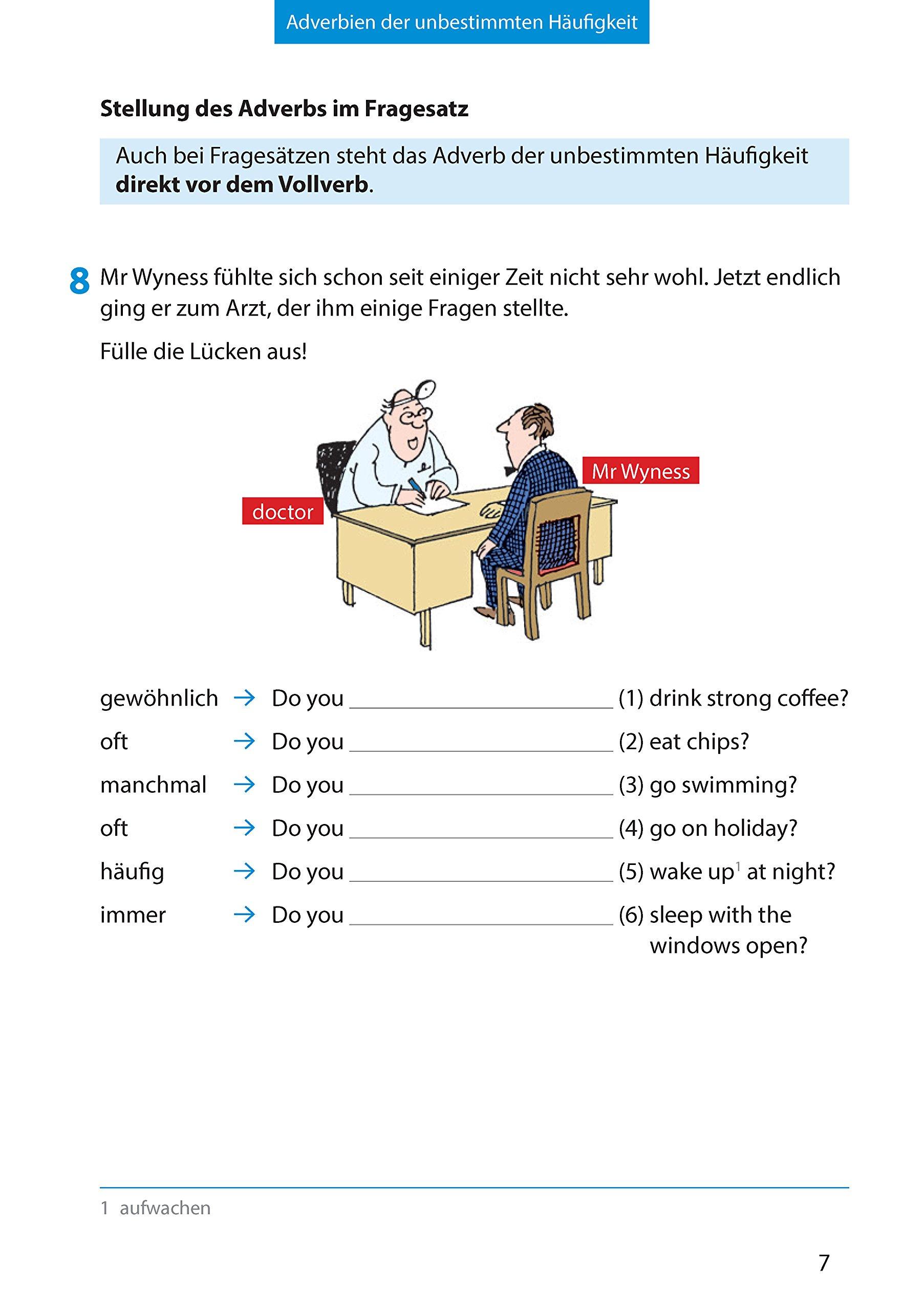 Wichtige Grammatikbereiche. Englisch 6. Klasse: Ein Übungs- und ...