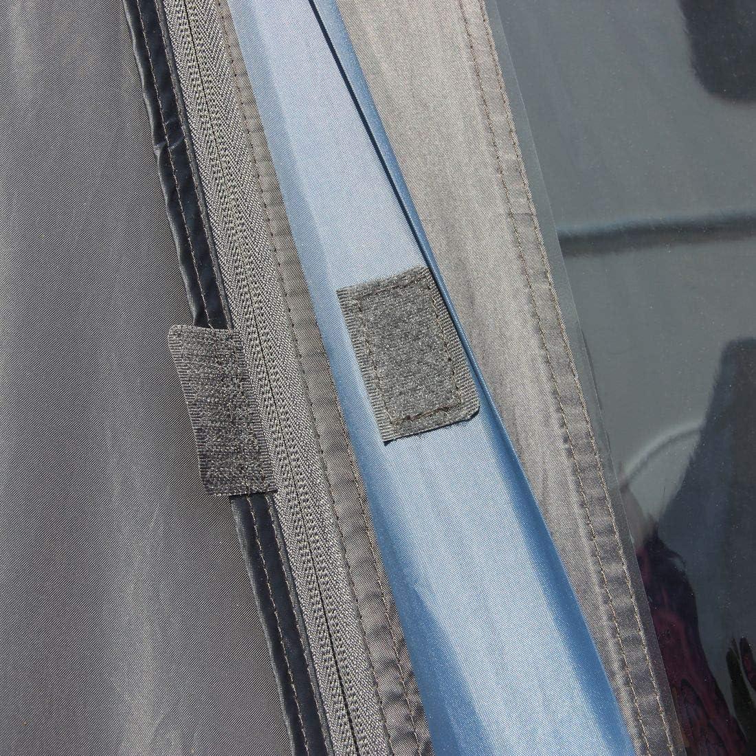 your GEAR auvent a/érien Vicenza 350 auvent de Caravane auvent de Voyage l/éger 250 cm de Profondeur /étanche 5000 mm Blue Grey