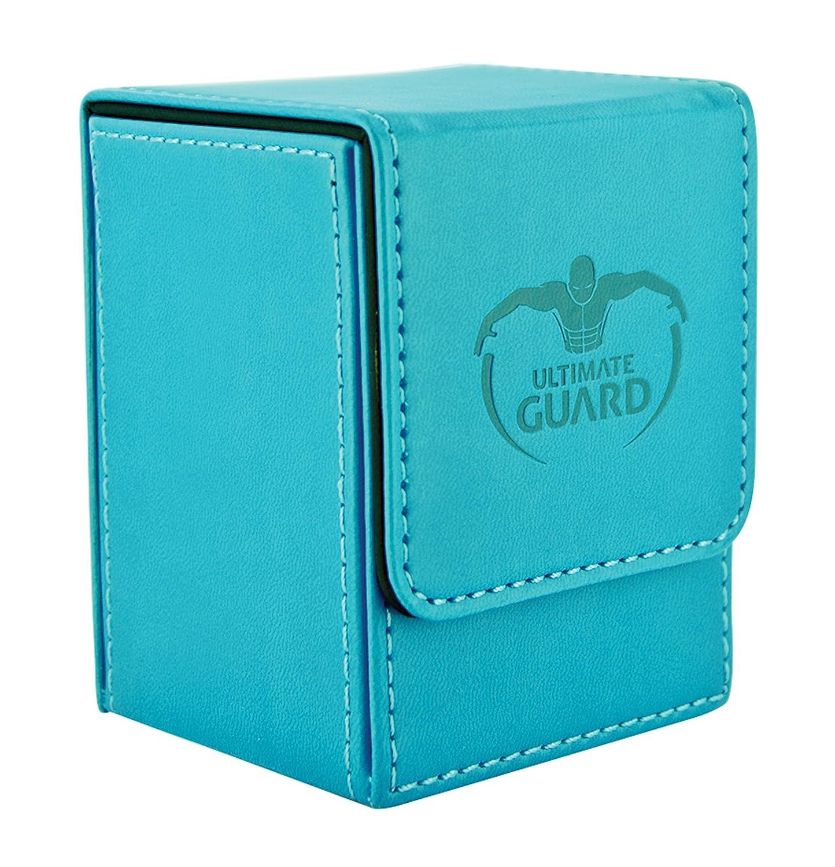 Green UGD010398 Ultimate Guard 100 Card Flip Leather Deck Case