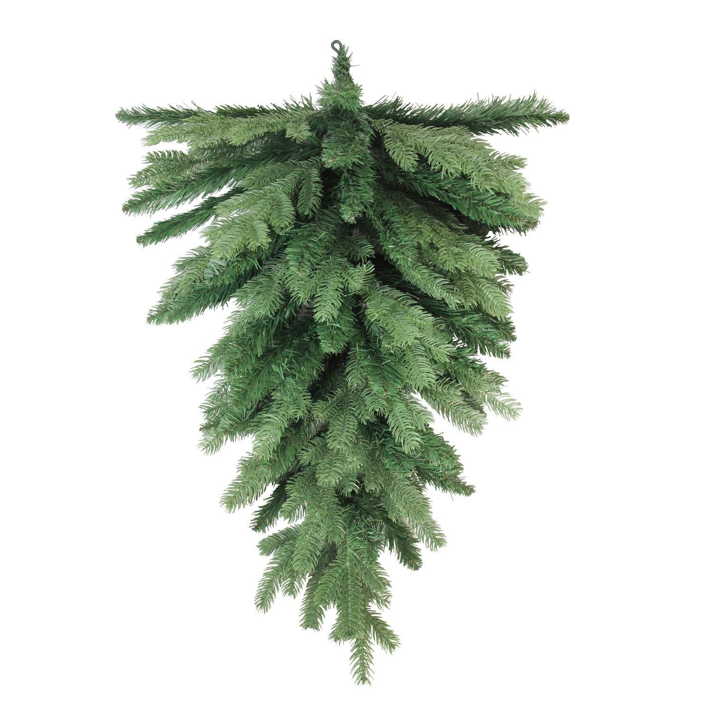 Northlight Mixed Pine Artificial X-Mas Teardrop Swag, 30'', Green