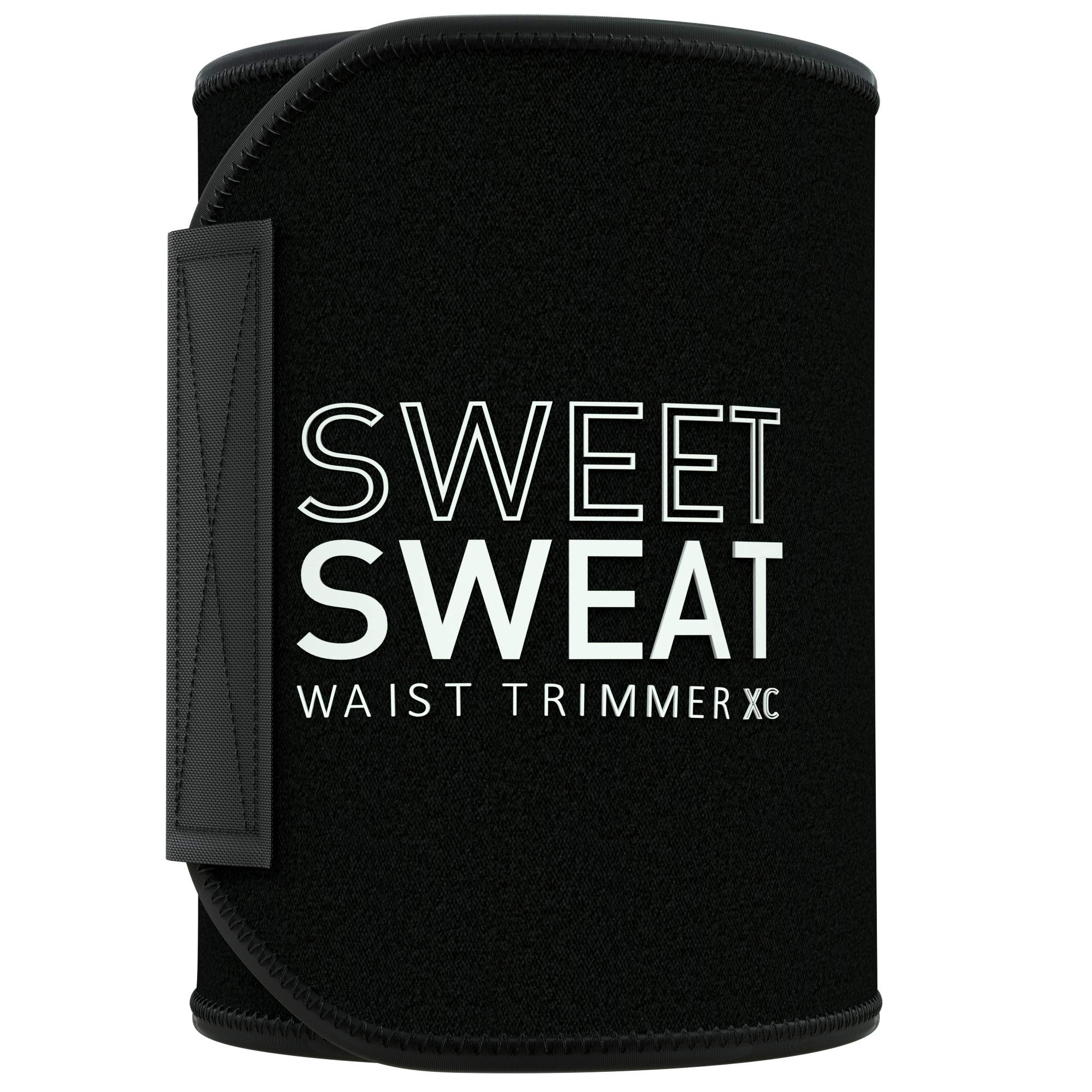 Sweet Sweat Waist Trimmer 'Xtra-Coverage' for Men & Women | Premium Waist Trainer Sauna Suit with More Torso Coverage for a Better Sweat!