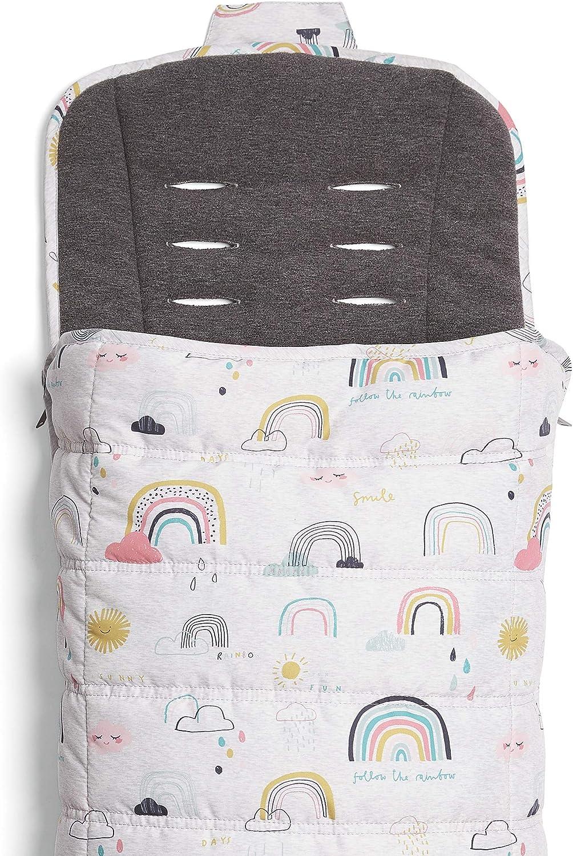 Rainbow Mamas /& Papas All Seasons Footmuff for Pushchair