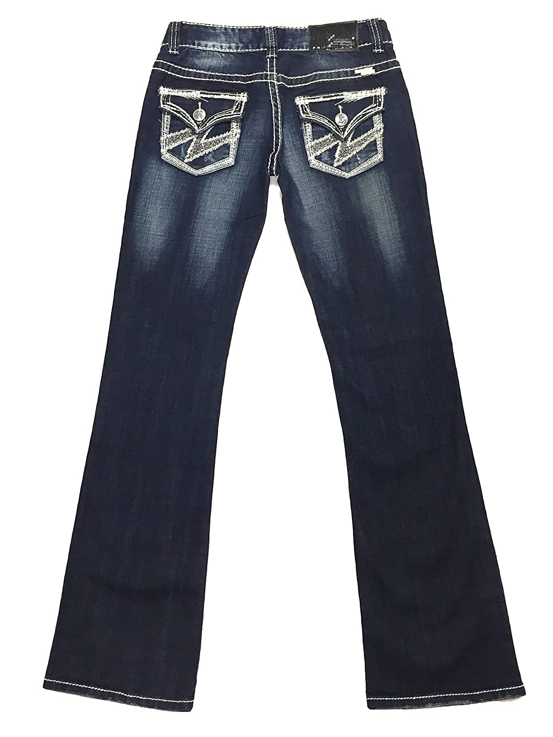 Rock and Roll Cowgirl W0-3688 Lowrise Bootcut Denim