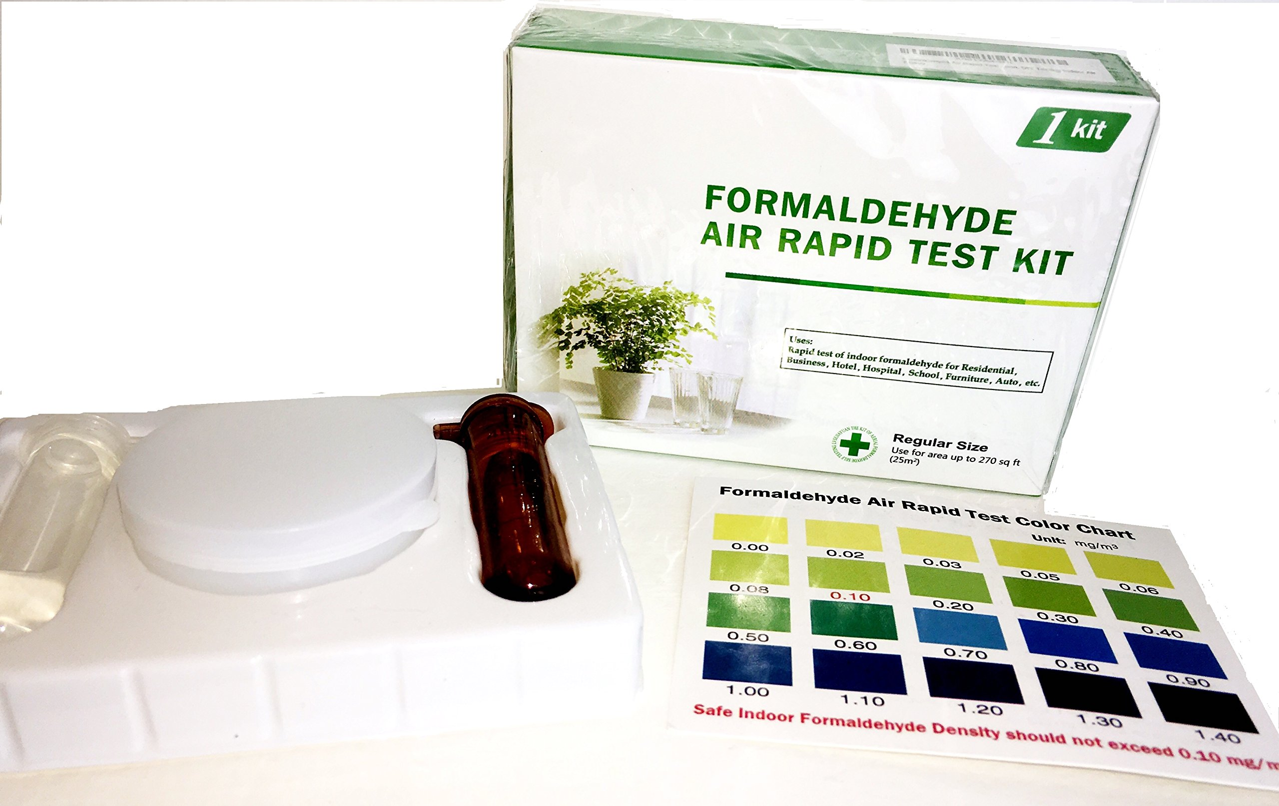 Formaldehyde Air Rapid Test Kit, 5th Generation, DIY Testing Indoor Air