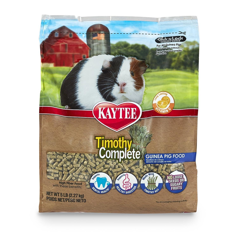 Kaytee Timothy Complete Premium Timothy Fiber Diet - Guinea Pig