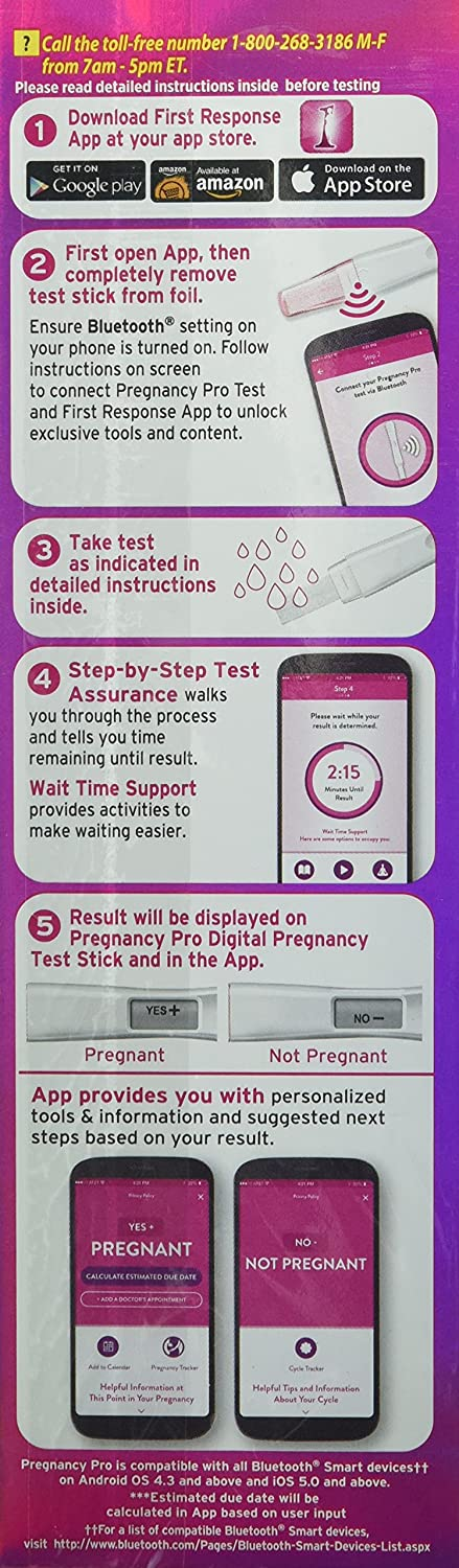 First Response First Response Pregnancy Pro 1s 10 Count Amazon