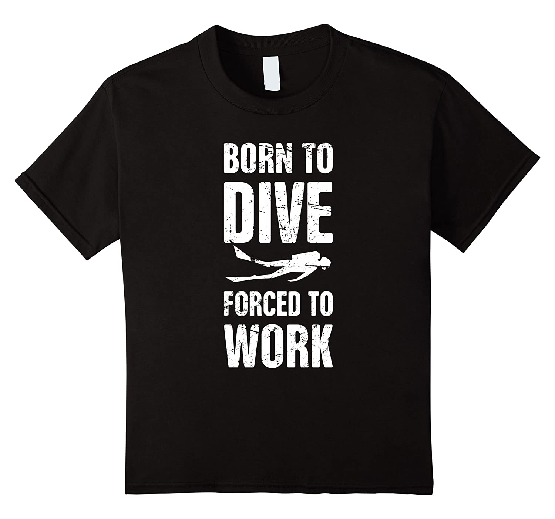 Distressed Scuba Diving T Shirt Medium-Tovacu