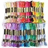 Laat 50PCS colorato ricamo Floss filo da ricamo croce matassine ricamo cucito bobine filo per filo da cucito ricamo Tools