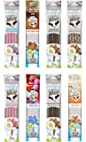 Milk Magic Milk Flavoring Straws 32 Straw Variety Pack Flavors May Include: Cookies and Cream, Chocolate, Strawberry…
