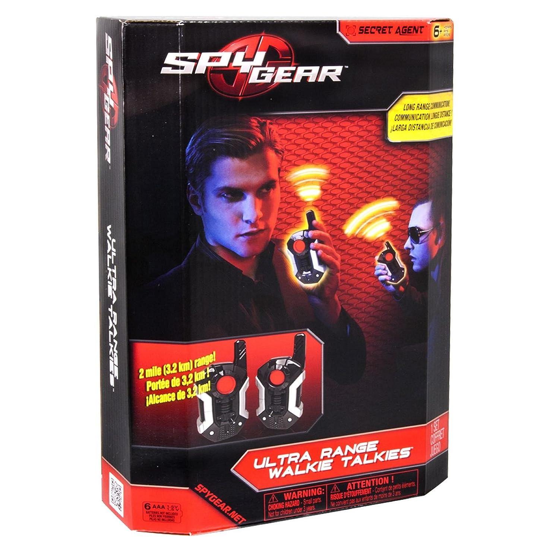 Ultra Range Walkie Talkies Spy Gear 2 Spin Master 6021820