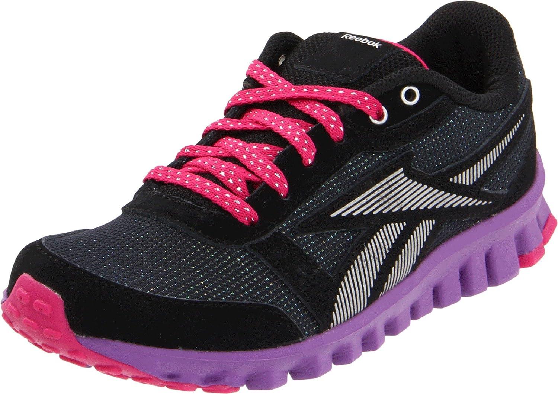 Críticamente Ridículo vestirse  Amazon.com | Reebok Realflex Optimal Sparkel GS Running Shoe (Big Kid) |  Running