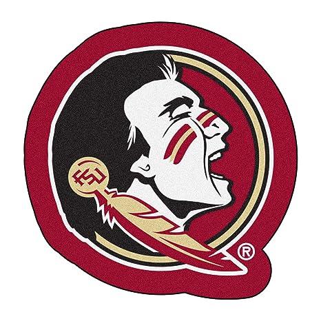 FANMATS NCAA Florida State University Seminoles Nylon Face Mascot Rug