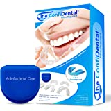 The ConfiDental - Pack of 5 Moldable Mouth Guard for Teeth Grinding Clenching Bruxism, Sport Athletic, Whitening Tray…